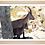 Thumbnail: Cadre en bois - Bouquetins