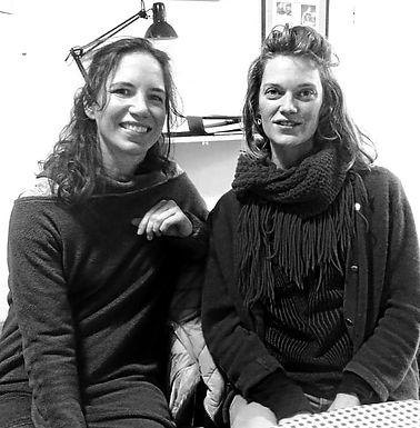 Justine Macadou et Coralie Maniez