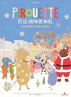 Pirouette et le sapin de Noël