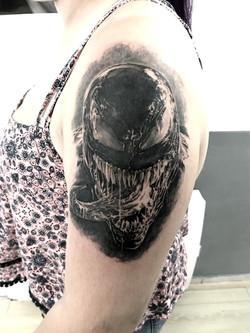 tattoo venon black corner tattoo