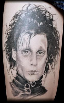 tatouage edouard black corner tattoo