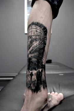 tattoo cimetiere black corner tattoo