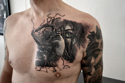 tattoo cover black corner tattoo
