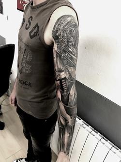tattoo biomeca black corner tattoo