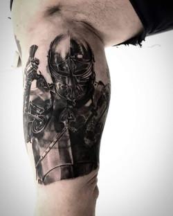 tattoo chevalier black corner tattoo
