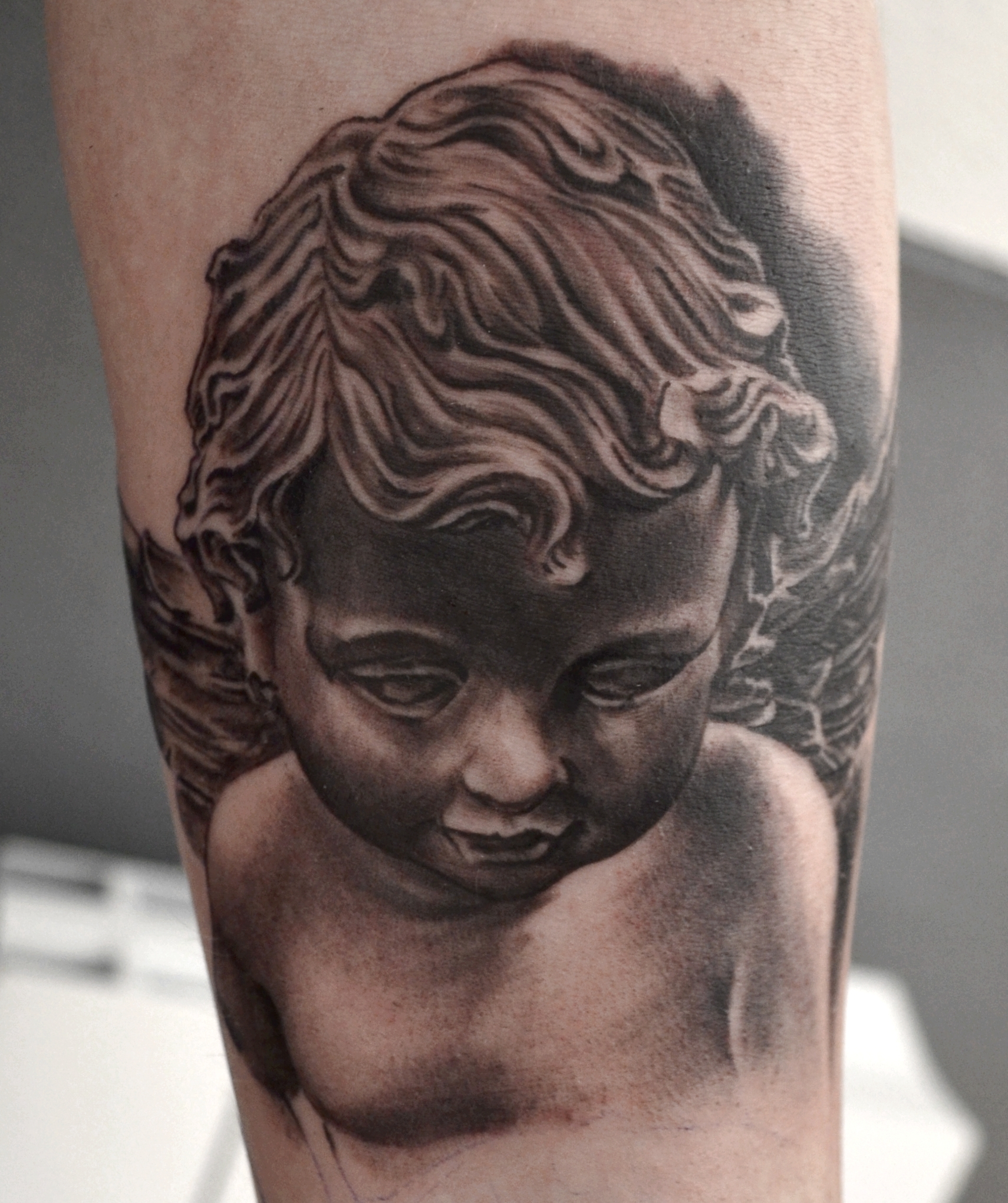 tattoo angelo black corner tattoo