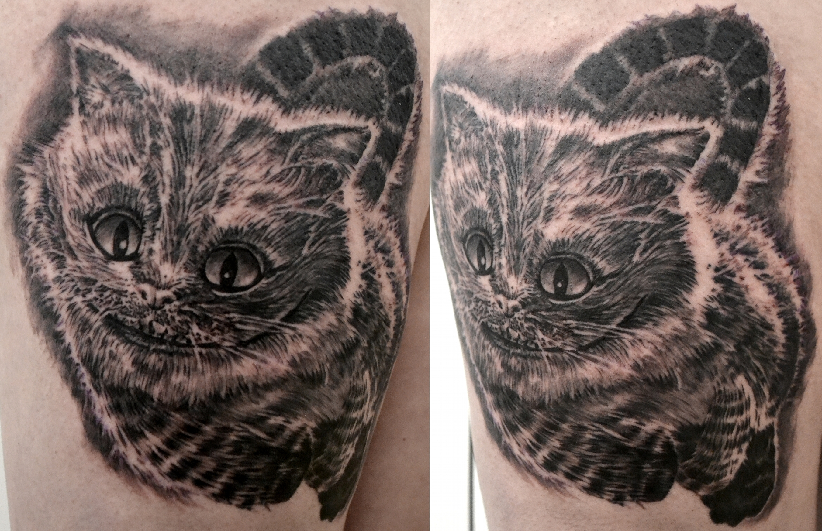 tattoo cheshire black corner tattoo