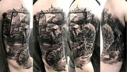tattoo alice black corner tattoo