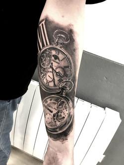 tattoo watch black corner tattoo