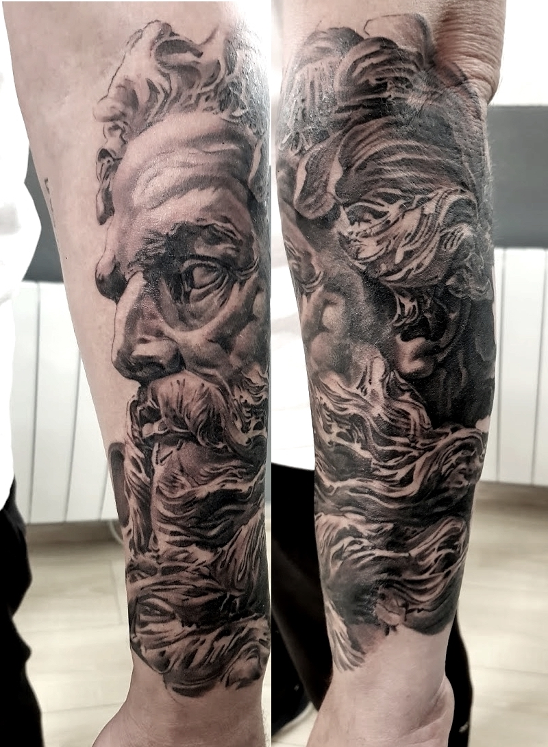tattoo zeus black corner tattoo