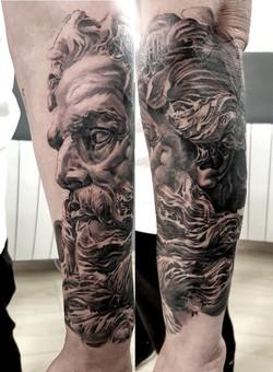 tattoo zeus black corner tattoo