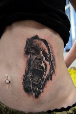 black corner tattoo,bueno,Valence
