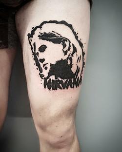 tattoo nirvana black corner tattoo