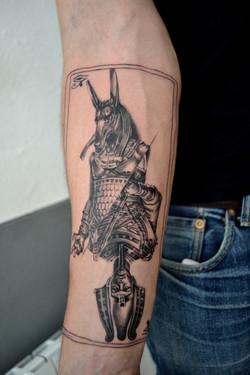 tattoo osiris black corner tattoo