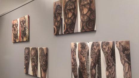 Black Corner Tattoo tableau des tatouages