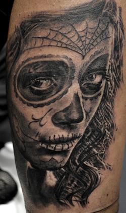 tatouage catrina bueno valence