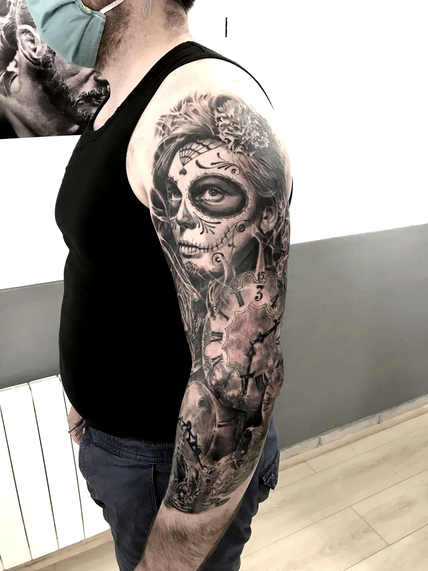 tattoo katrina black corner tattoo