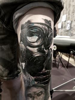 tattoo dark black corner tattoo