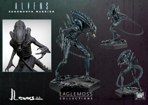 Aliens 1986 xenomorph warrior