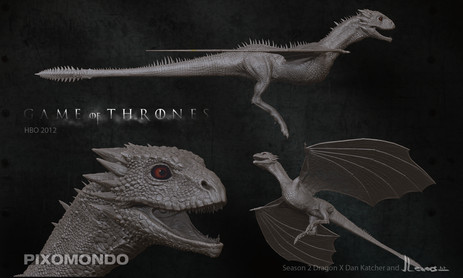Game of thrones s2 dragon