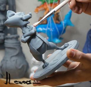 Painting my sculpts