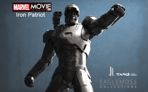 Iron patiot 3d