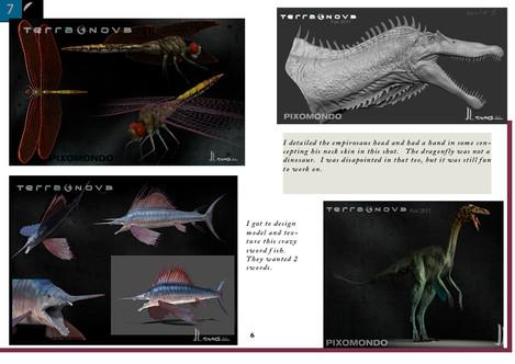 Terra nova creatures