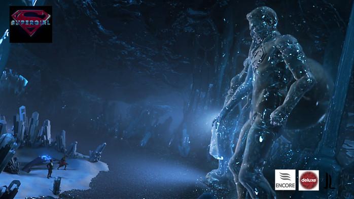 Ice statue attack