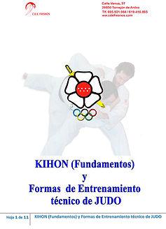 Fundamentos Judo y Formas de entrenamiento - Escuela de JUDO CDE FRESNOS Torrejón de Ardoz