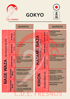 GOKYO JUDO CINTO MARRÓN - Escuela de JUDO CDE FRESNOS Torrejón de Ardoz, Madrid
