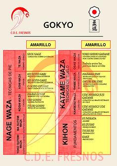 GOKYO JUDO CINTO AMARILLO - Escuela de JUDO CDE FRESNOS Torrejón de Ardoz, Madrid