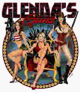 Glenda's Guns, Logo, Women owned and operated.