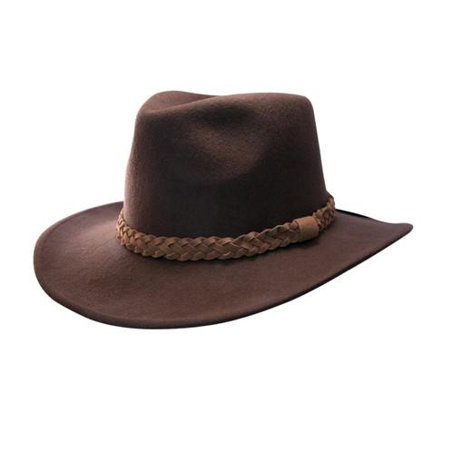b0842fef1d9 P J Powell wool felt cowboy styled hat
