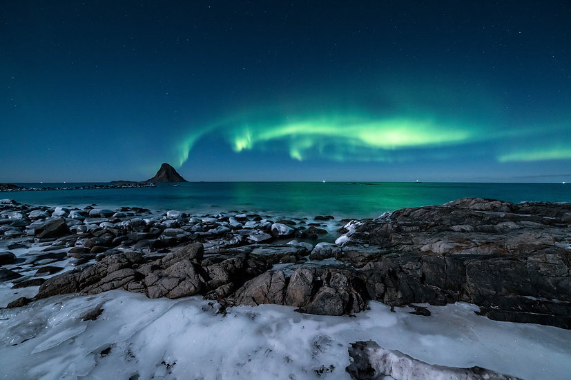 Nordlys Bleiksøya