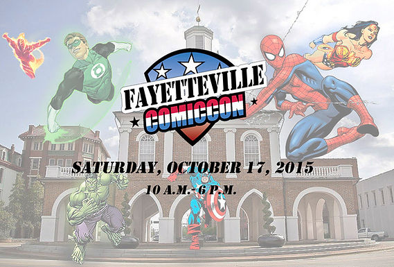 Fayetteville ComicCon Review