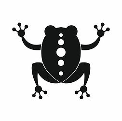 frog-icon-black-simple-style-vector-8890