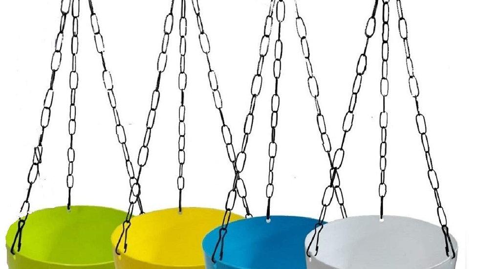 Decorative Hanging Nest Baskets Pots - Multicolour-Pack of
