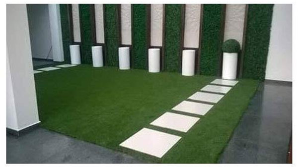 Artificial Lawn Green Grass 35 mm - Rs : 85/Square Ft