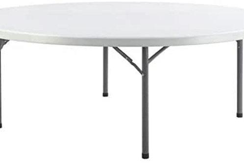 Table Plastique Ronde 200cm