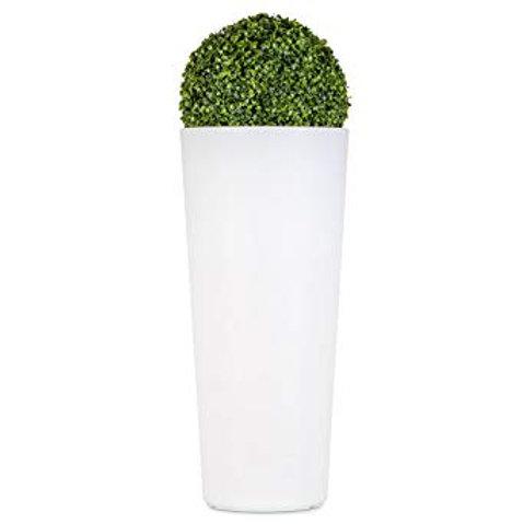 Pot blanc H80cm