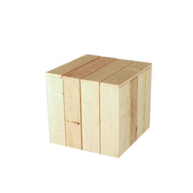 Table basse carrée Bois