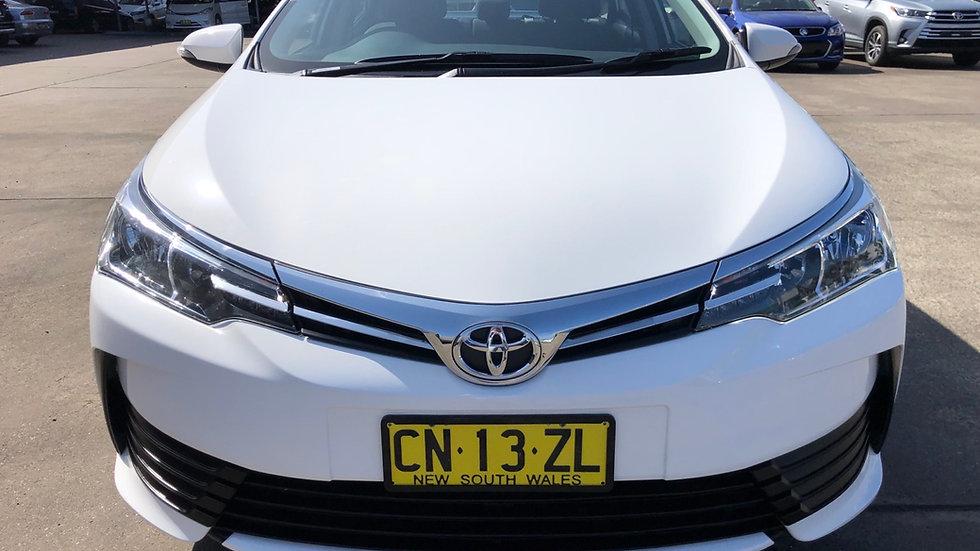 2017 Toyota Corrola Ascent Auto