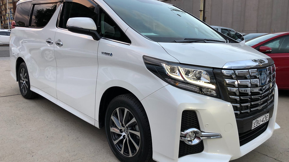2016 Toyota Alphard SRC Hybrid AWD