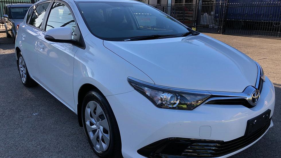 2017 Toyota Corolla Ascent CVT