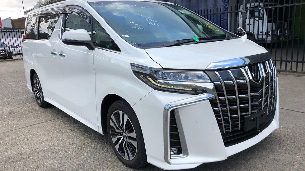 New 2019 Toyota Alphard SC 3.5 Auto
