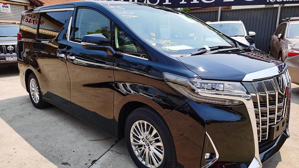 2019 Toyota Alphard GF Auto Brand New