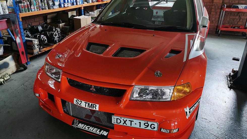 1999 Mitsubishi Lancer Evo 6 Rally Art