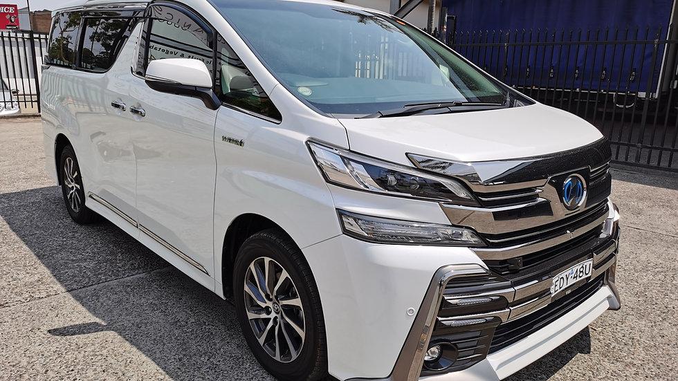 2016 Toyota Vellfire Hybrid Auto