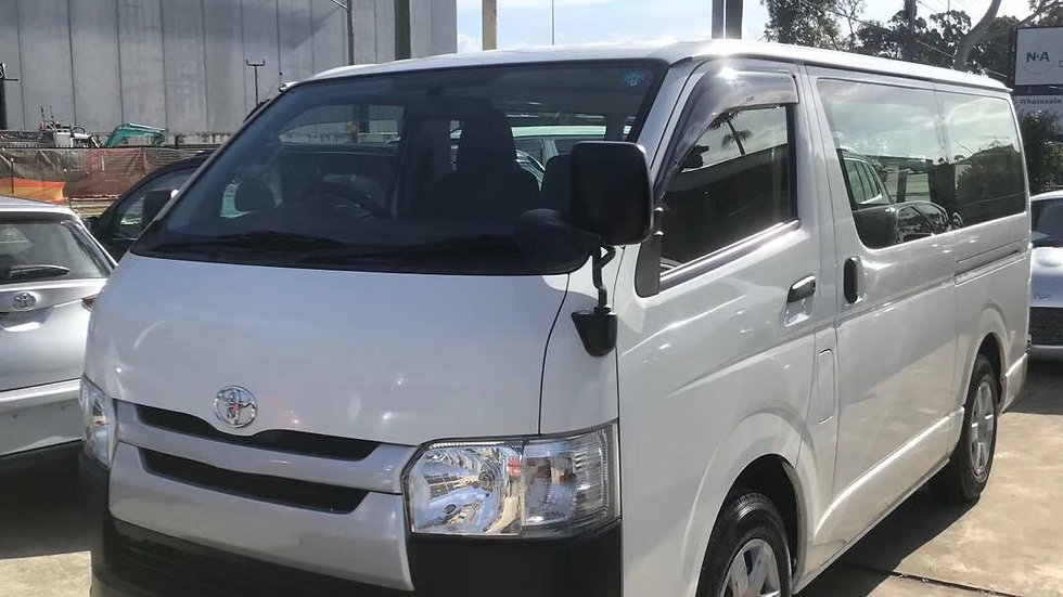 2014 Toyota Hiace TDI Auto