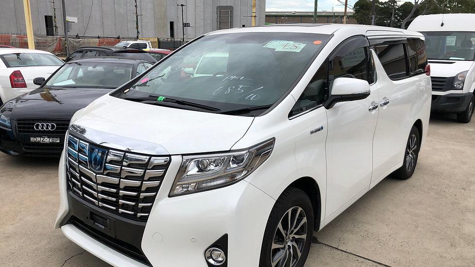 2016 Toyota Alphard E/L Hybrid